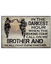 In The Darkest Hour Brother 17x11 Poster front