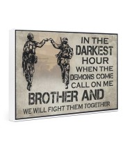 In The Darkest Hour Brother 24x16 Gallery Wrapped Canvas Prints thumbnail