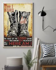 I Said Here Am I 16x24 Poster lifestyle-poster-1