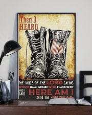 I Said Here Am I 16x24 Poster lifestyle-poster-2