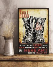 I Said Here Am I 16x24 Poster lifestyle-poster-3
