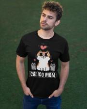 Calico Mom Classic T-Shirt apparel-classic-tshirt-lifestyle-front-43