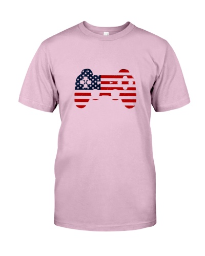 Video Game American Flag 4Th Of July Gift Shirt 84