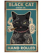 Cat Black Cat Cigar Co Hand Rolled vintage poster 11x17 Poster front