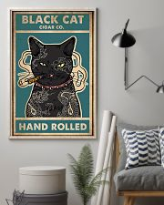 Cat Black Cat Cigar Co Hand Rolled vintage poster 11x17 Poster lifestyle-poster-1