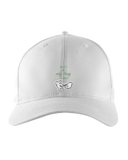 weed is the only thing we share Embroidered Hat thumbnail