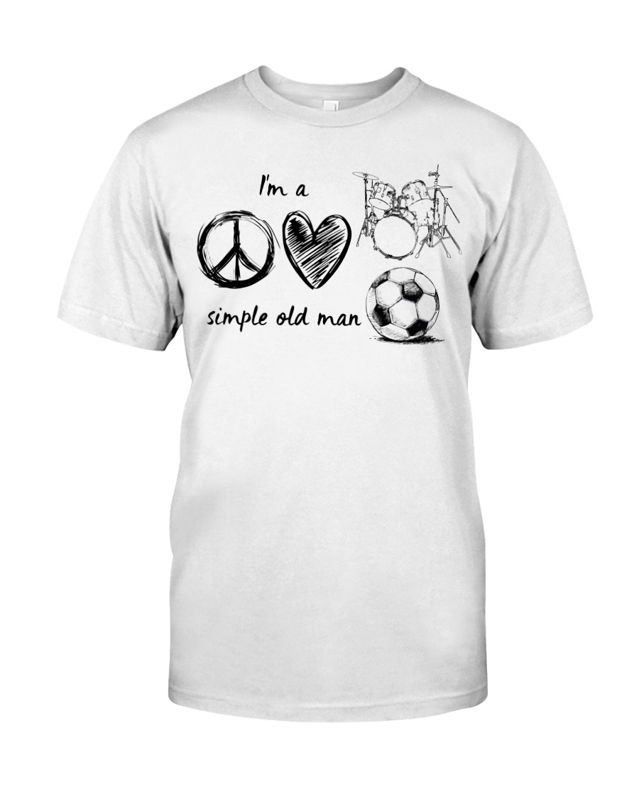 I'm a simple old Man Classic T-Shirt