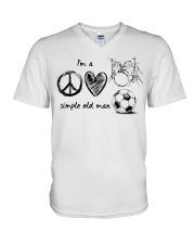 I'm a simple old Man V-Neck T-Shirt thumbnail