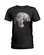 S02 0901 DASHUND Ladies T-Shirt thumbnail
