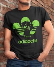 Adidachs Dachshund Dog T-shirt Classic T-Shirt apparel-classic-tshirt-lifestyle-26