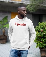Love in Swahili language - Africa African Hooded Sweatshirt apparel-hooded-sweatshirt-lifestyle-front-18