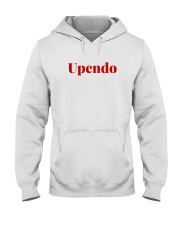 Love in Swahili language - Africa African Hooded Sweatshirt front