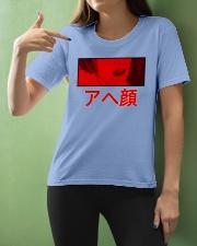 Ahegao Manga Anime Cosplay Japan Japanese Ladies T-Shirt apparel-ladies-t-shirt-lifestyle-front-10