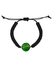 green Cord Circle Bracelet thumbnail