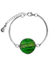 green Metallic Circle Bracelet thumbnail