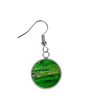 green Circle Earrings thumbnail