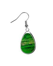 green Teardrop Earrings thumbnail