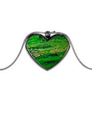 green Metallic Heart Necklace thumbnail