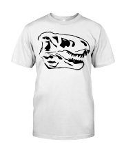 Dinosaur Animal Lover Animals Skull Gift Idea Classic T-Shirt thumbnail