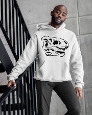 Dinosaur Animal Lover Animals Skull Gift Idea Hooded Sweatshirt apparel-hooded-sweatshirt-lifestyle-front-10