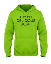 Sushi Food Japan Japanese Sexy Flirt Flirting Hooded Sweatshirt front
