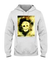 Skull in Neon Yellow Gift Idea Hooded Sweatshirt thumbnail