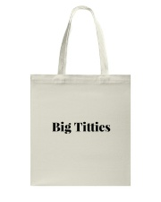Boobs Funny Quote For Couples and Party - Flirting Tote Bag thumbnail