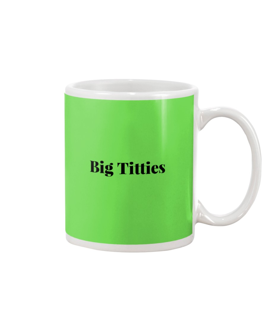 Boobs Funny Quote For Couples and Party - Flirting Mug