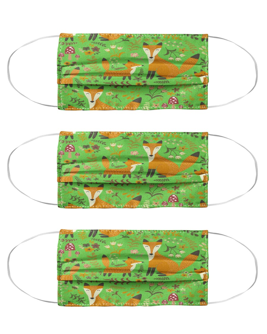 best fox face masks in 2020 Cloth Face Mask - 3 Pack