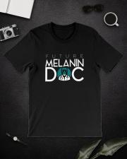 Future Melanin Black T-Shirt Classic T-Shirt lifestyle-mens-crewneck-front-16