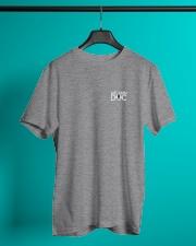 Melanin Doc Pocket Logo Classic T-Shirt lifestyle-mens-crewneck-front-3