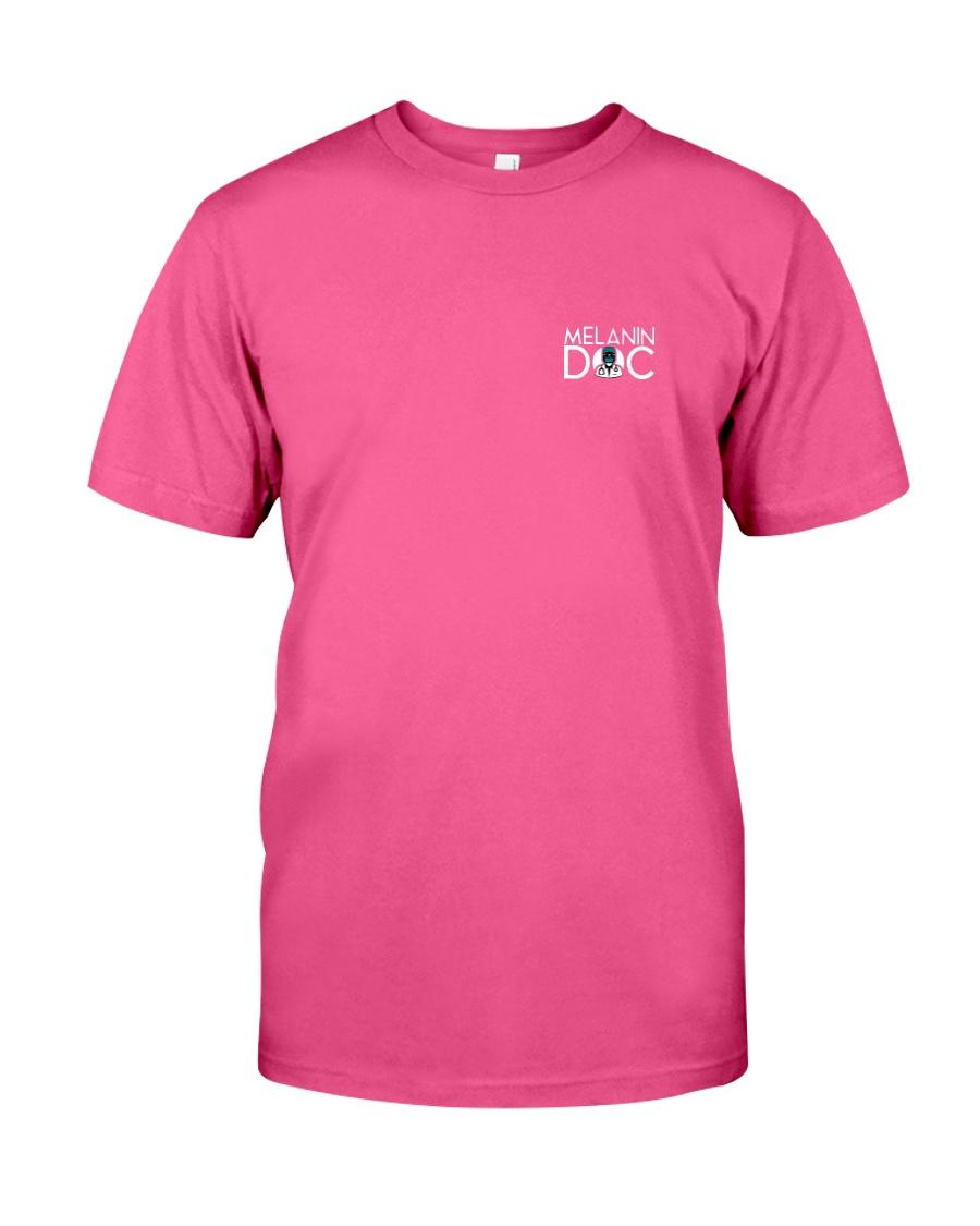 Melanin Doc Pocket Logo Classic T-Shirt