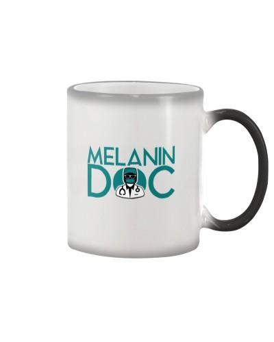 Color Changing Magic Melanin Doc Mug