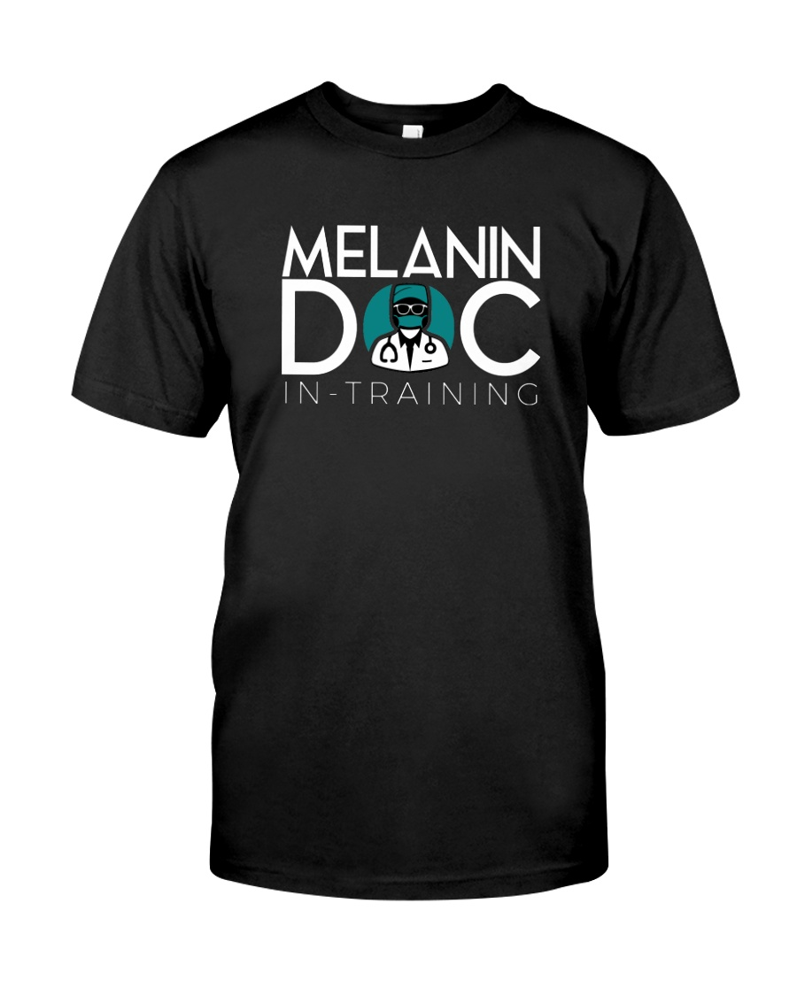 Melanin-in-training Black T-Shirt Classic T-Shirt