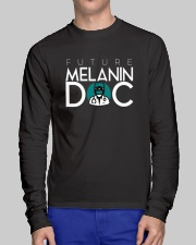 Future Melanin Black Long Sleeve Long Sleeve Tee lifestyle-unisex-longsleeve-front-1