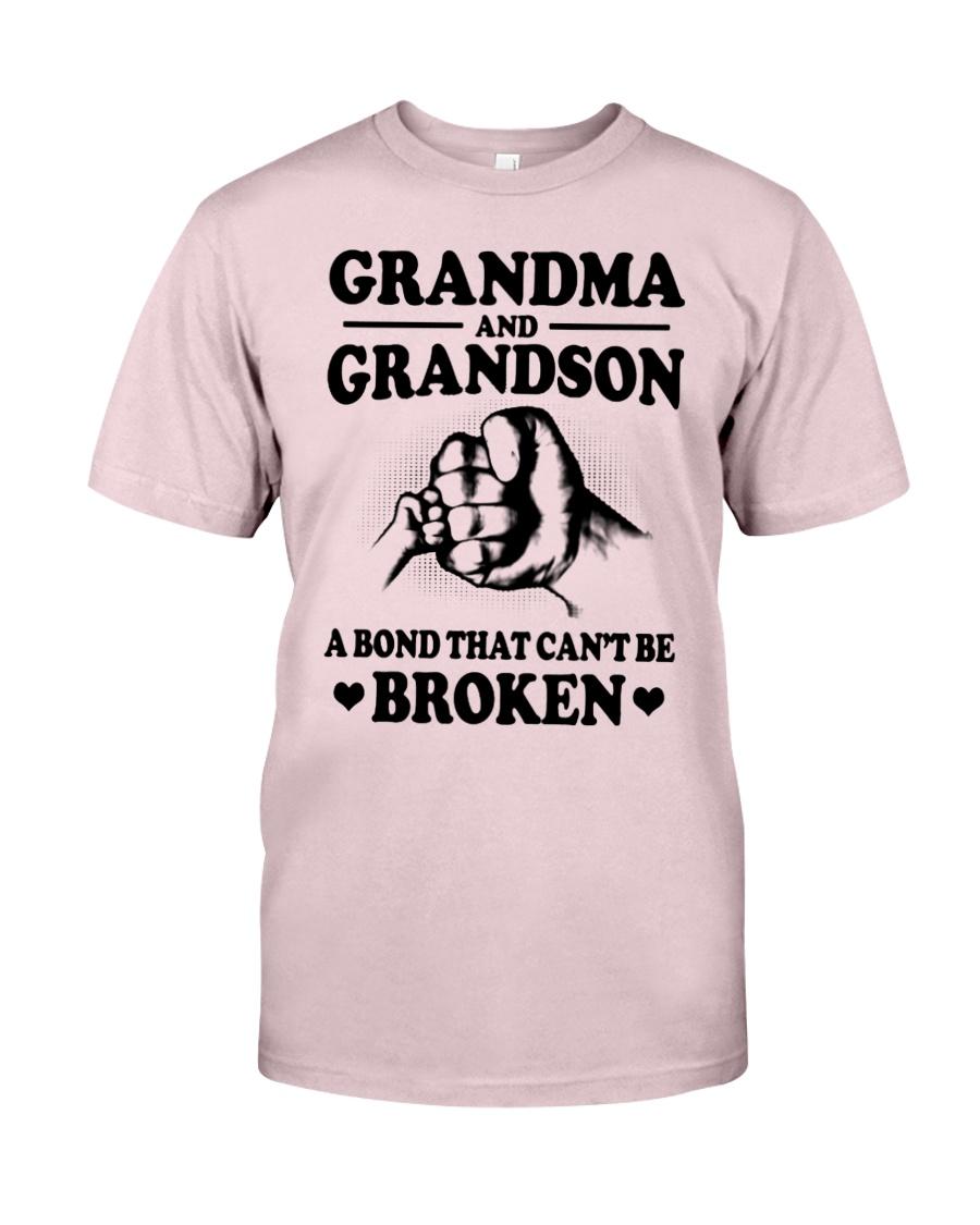 GRANDMA-GRANDSON Premium Fit Mens Tee