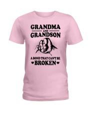 GRANDMA-GRANDSON Ladies T-Shirt thumbnail
