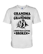 GRANDMA-GRANDSON V-Neck T-Shirt thumbnail