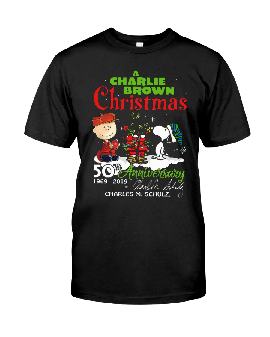 Charlie Brown Christmas 50th.A Charlie Brown Christmas 50th Anniversary Shirt
