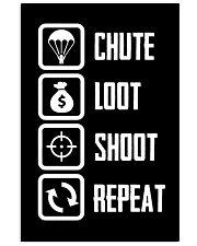 Chute Loot Shoot Repeat 11x17 Poster thumbnail