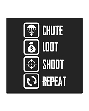 Chute Loot Shoot Repeat Square Coaster front
