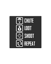 Chute Loot Shoot Repeat Square Magnet thumbnail