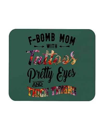 FBomb Mom with Tattoos Pretty Eyes