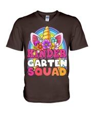 Kindergarten Squad V-Neck T-Shirt thumbnail