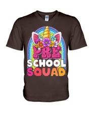 PreSchool Squad V-Neck T-Shirt thumbnail