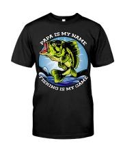 Mens Grandfather Gift Fish Tshirt Retired Premium Fit Mens Tee thumbnail