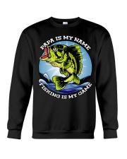 Mens Grandfather Gift Fish Tshirt Retired Crewneck Sweatshirt thumbnail