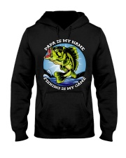 Mens Grandfather Gift Fish Tshirt Retired Hooded Sweatshirt thumbnail