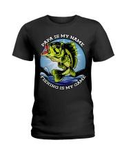 Mens Grandfather Gift Fish Tshirt Retired Ladies T-Shirt thumbnail