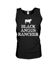 Black Angus Rancher Shirt Cattle  Unisex Tank thumbnail